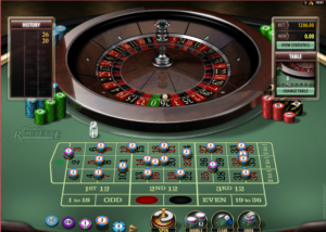 Microgaming casino's roulette