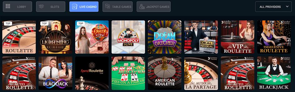 Live casino beleven