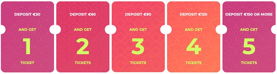 Loterij loten Maneki