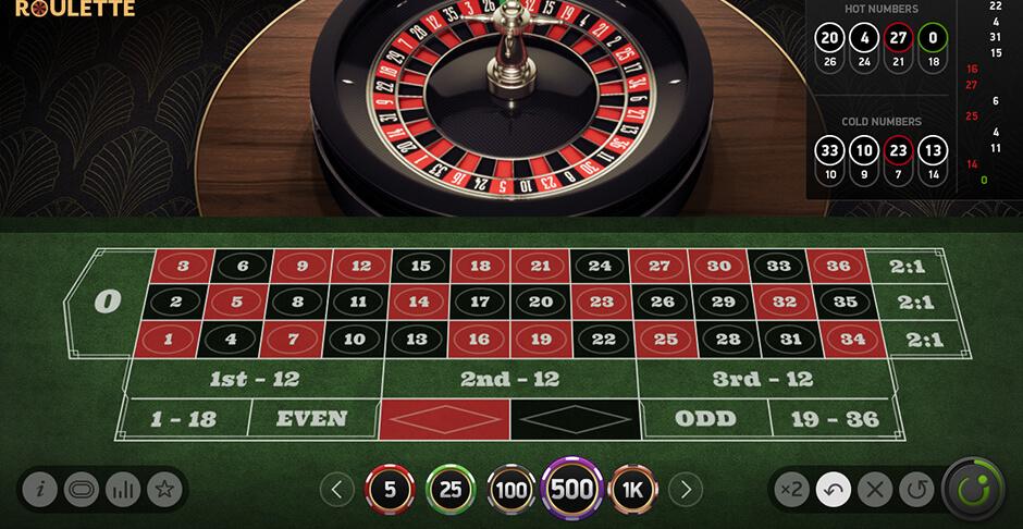 Geld storten en spelen