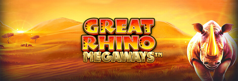 Jackpot spel Great Rhino