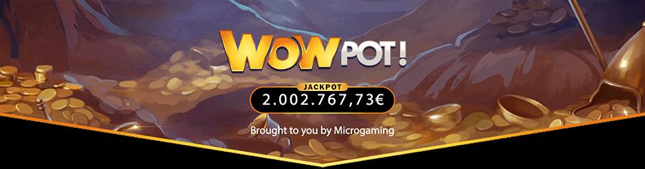 Wowpot jackpot