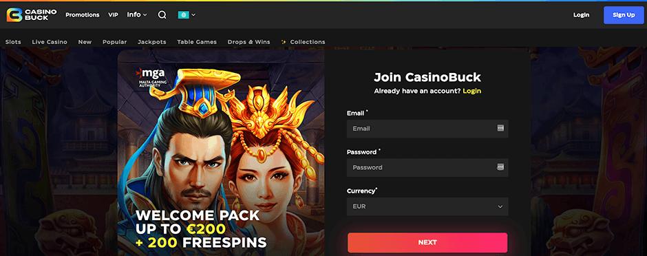 Casinobuck review